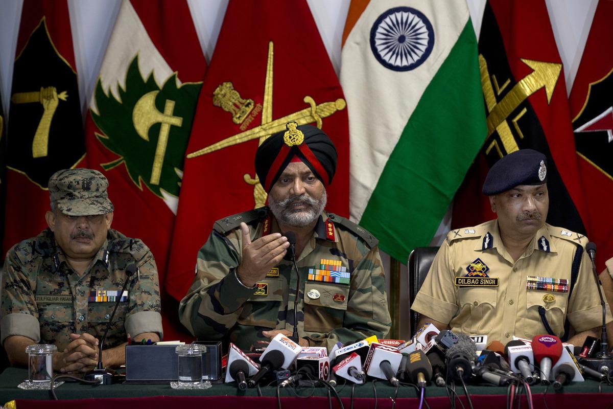 пакистано индийский конфликт