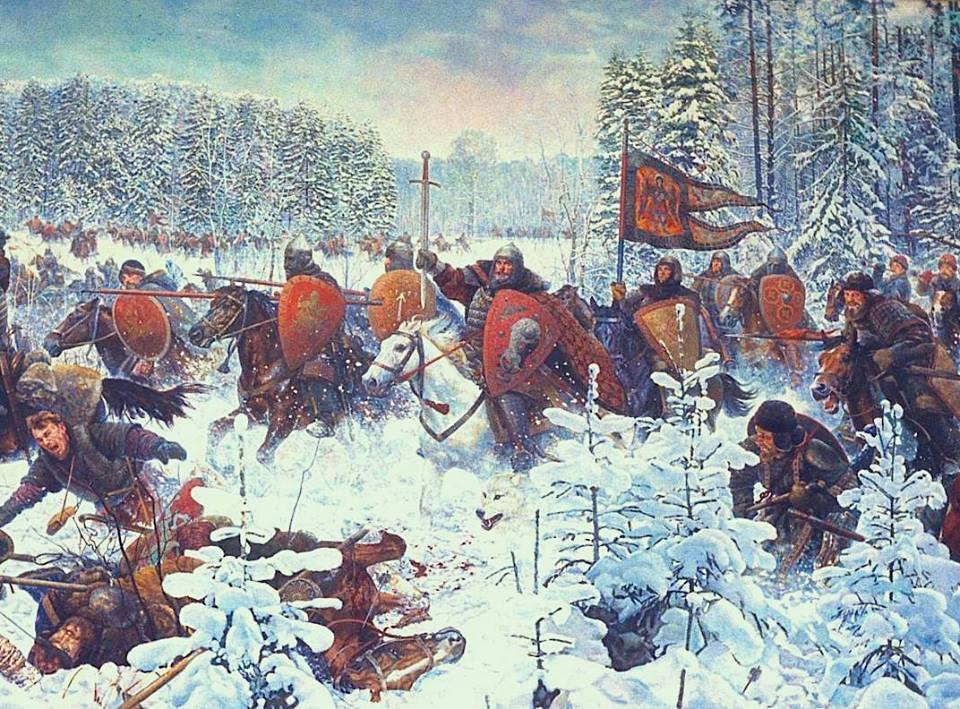 московские князья вели борьбу с тверью за