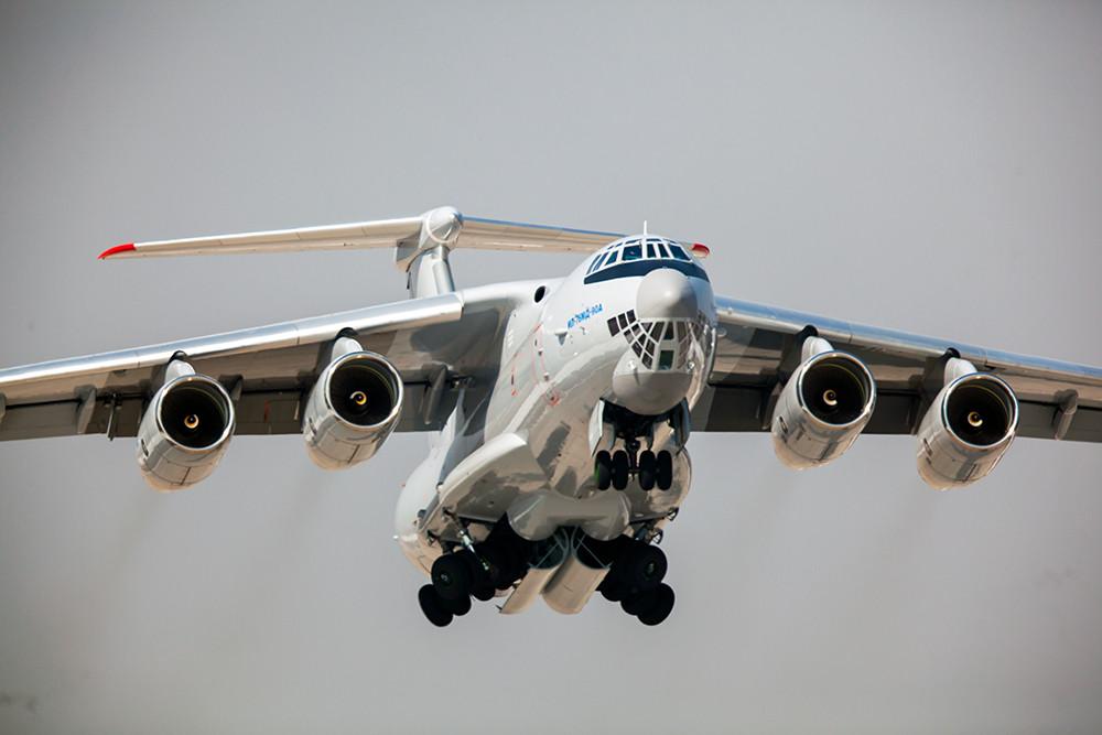 транспортные самолеты россии