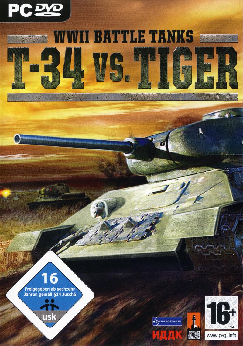т34 против тигра часть 2