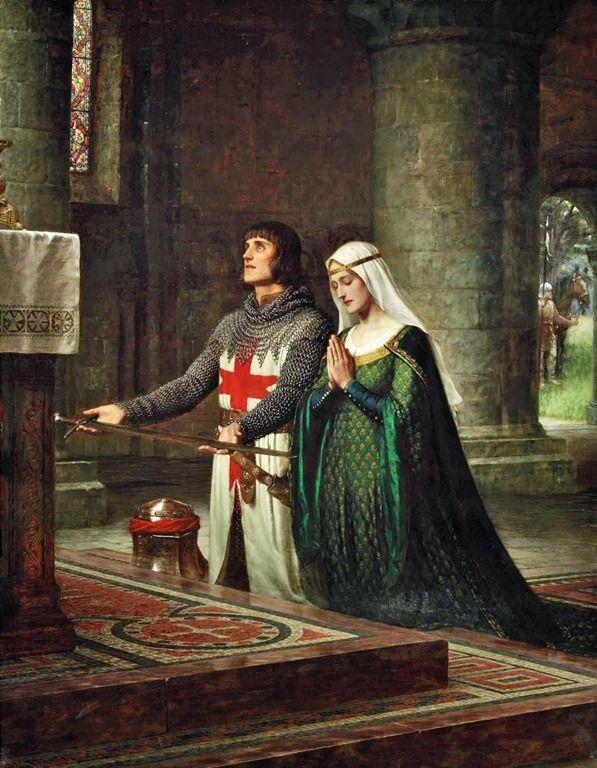 жизнь рыцаря в средневековье
