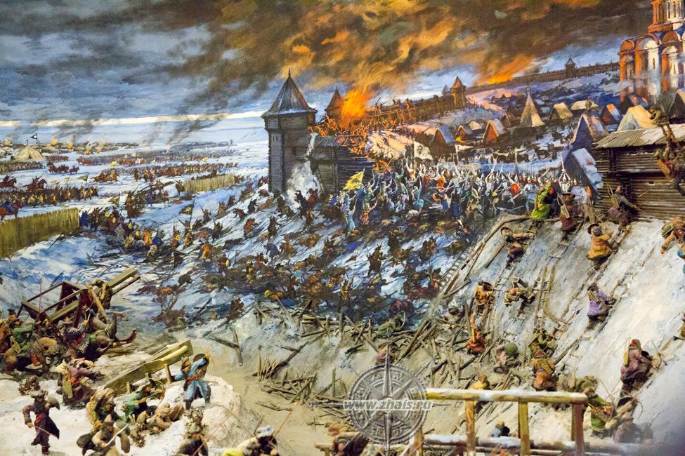 захват монголами владимира