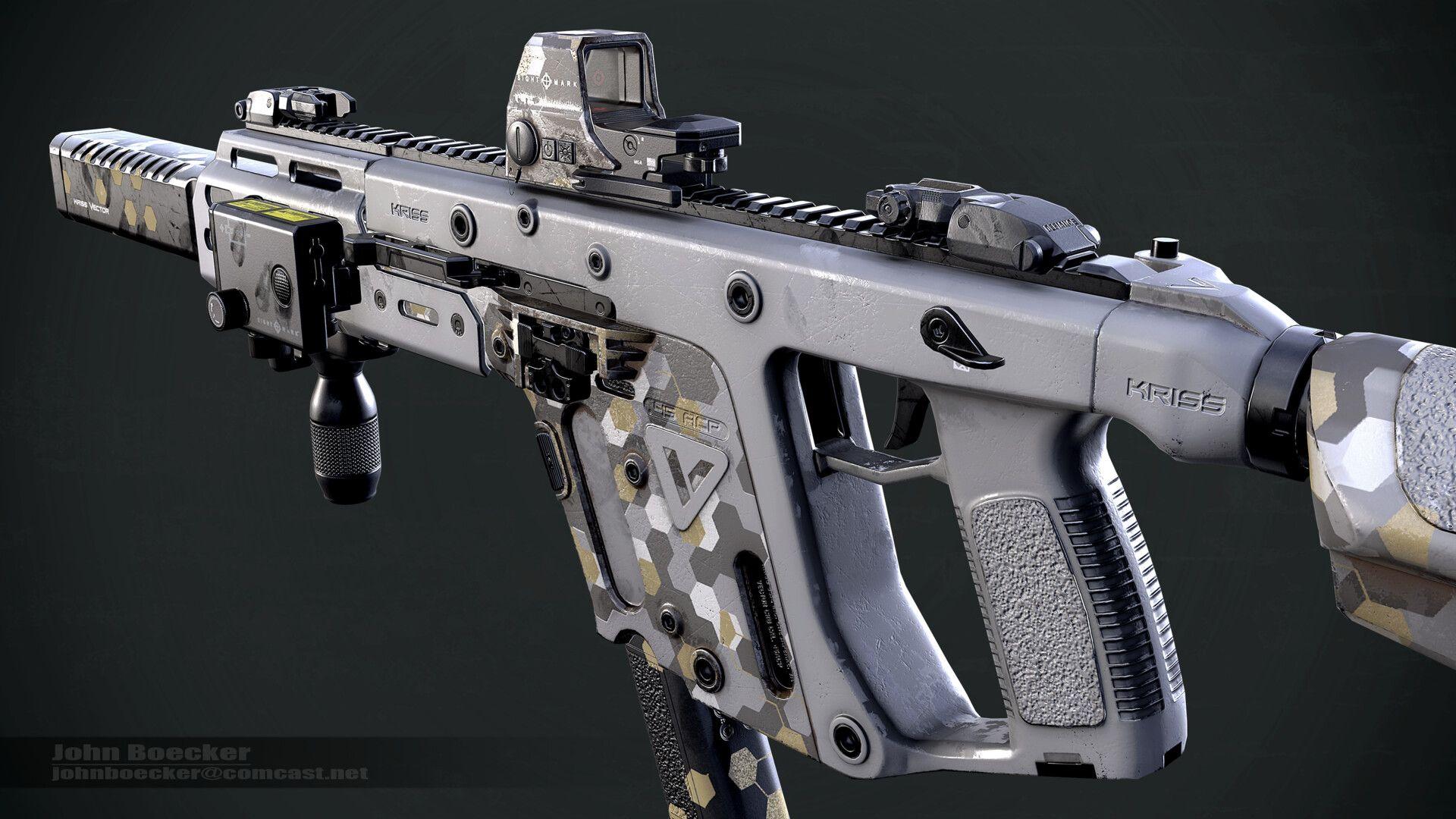 крис вектор оружие