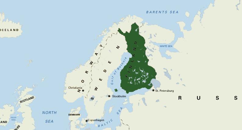 финляндия в составе россии 1809 1917 года