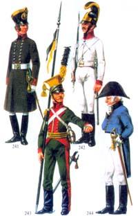 мундиры российской империи