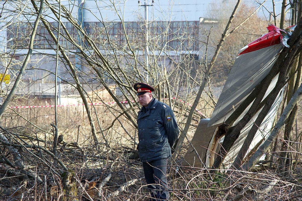 польский президент разбился под смоленском