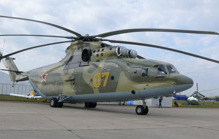 самый большой грузовой вертолет