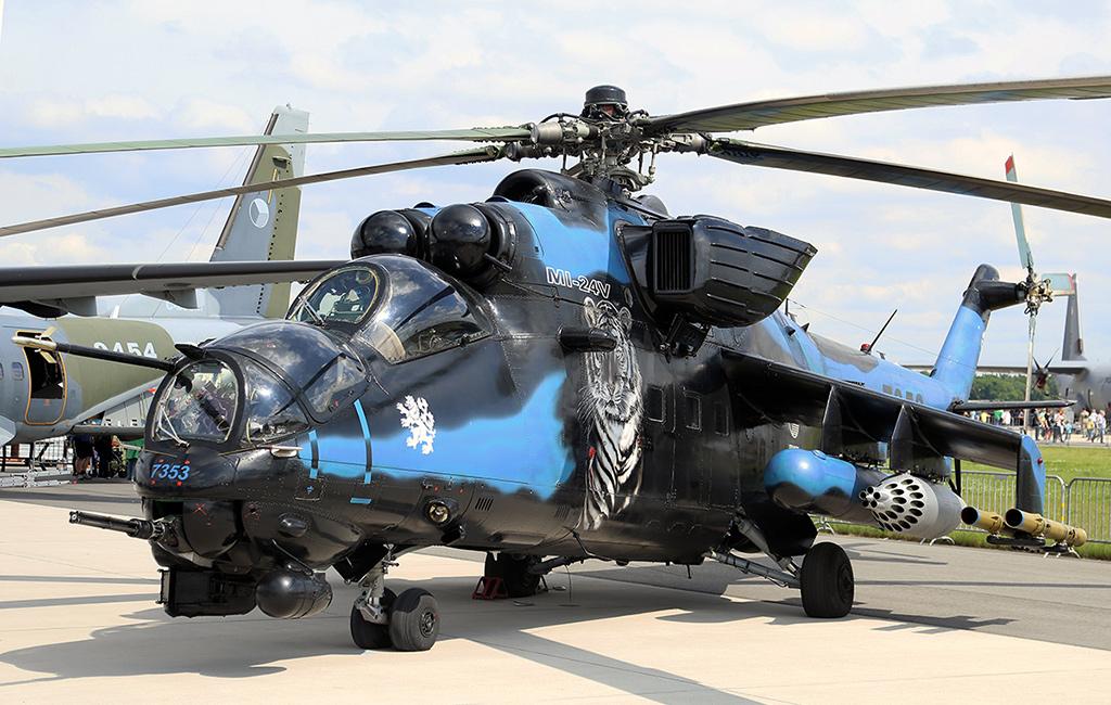 вертолеты серии ми