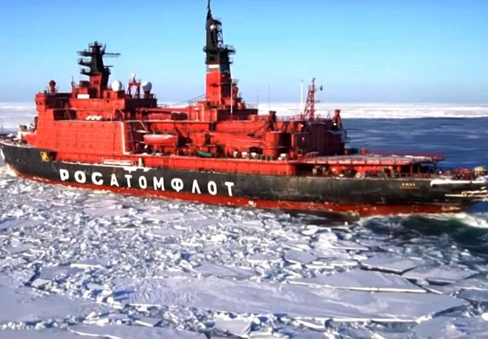 российские ледоколы
