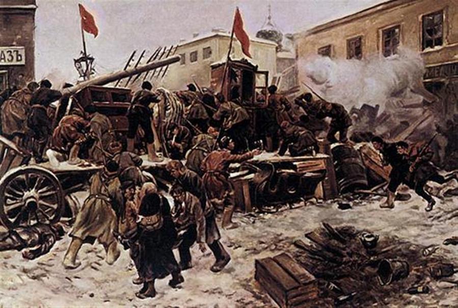 декабрьское восстание в москве