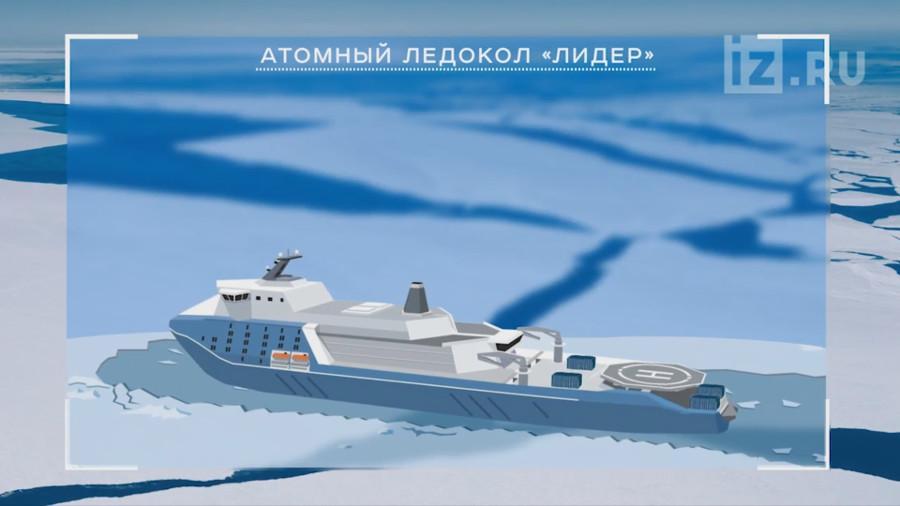 ледокол лидер проекта 10510