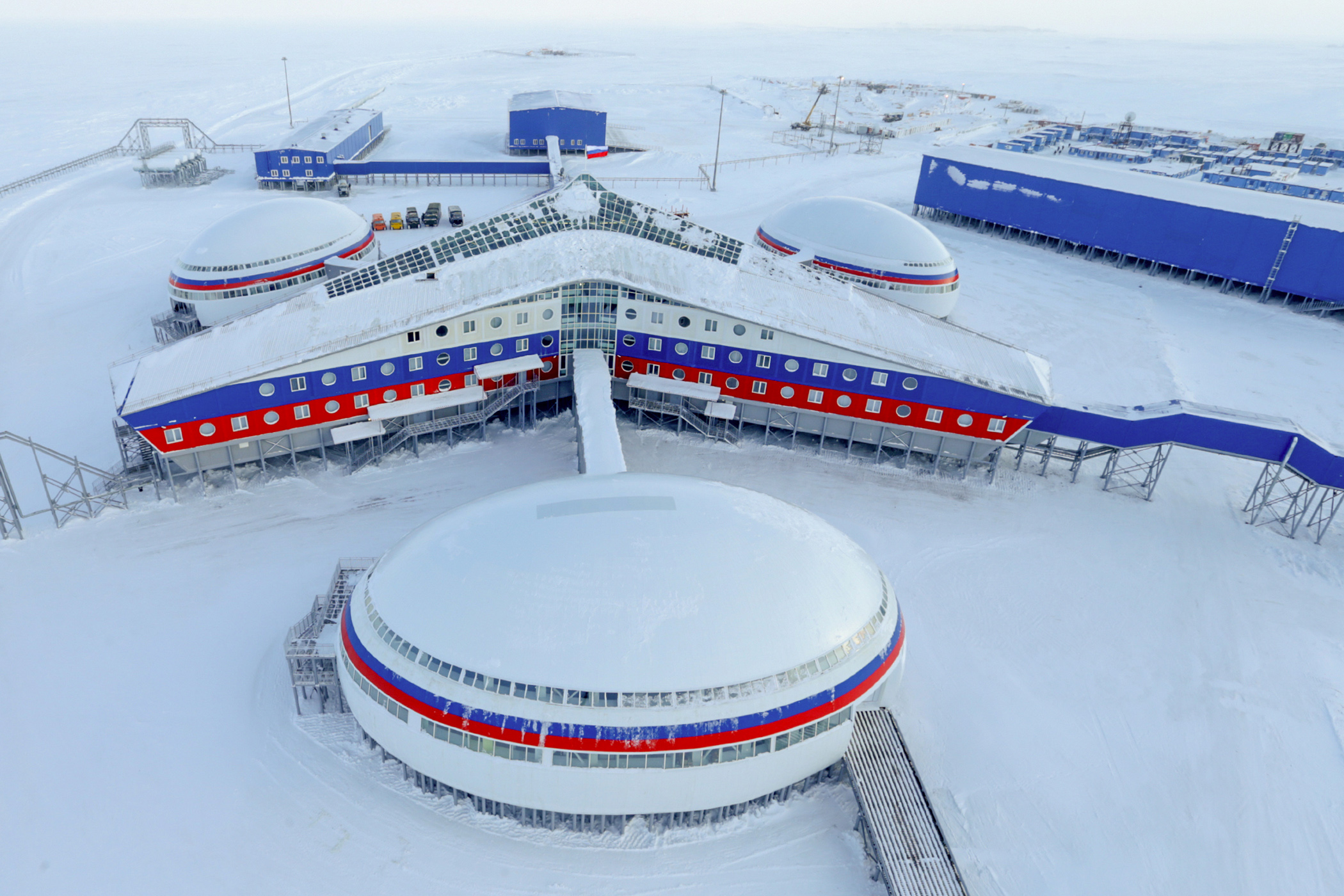 арктический трилистник на карте