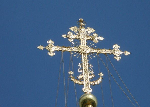 квадратный крест