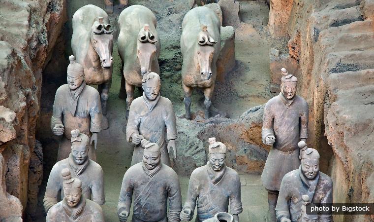 воины китая