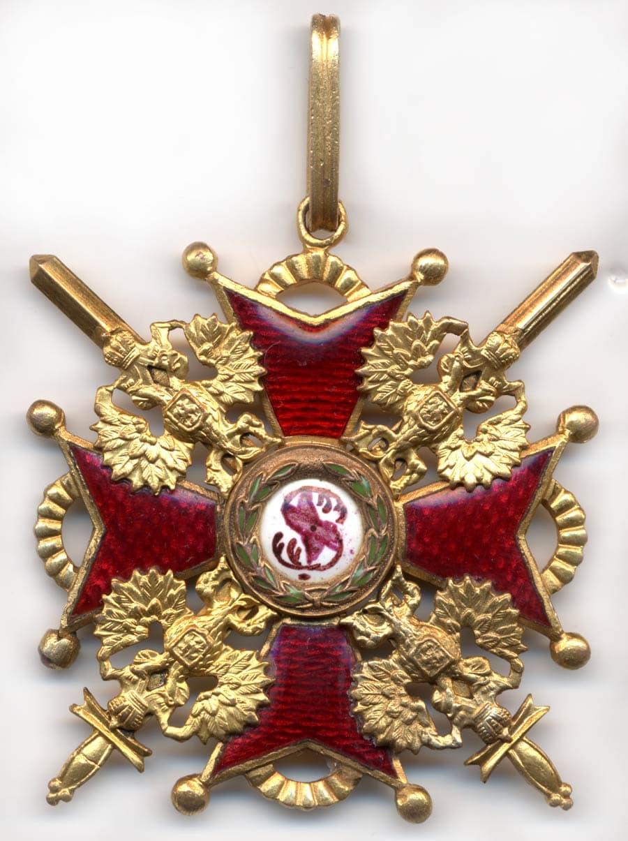 орден станислава с мечами
