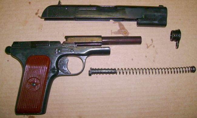 травматический пистолет лидер