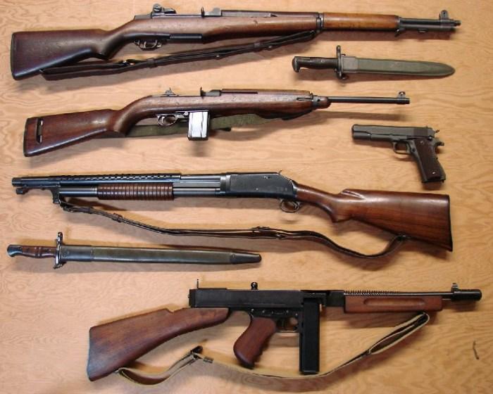 стрелковое оружие второй мировой