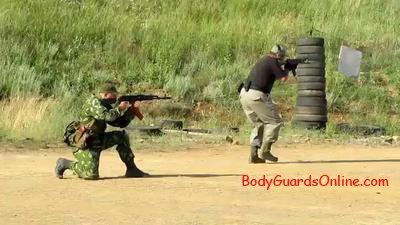 стрельба из калашникова