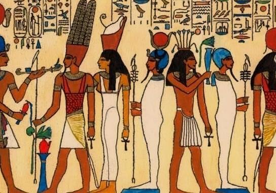 как одевались земледельцы ремесленники в древнем египте
