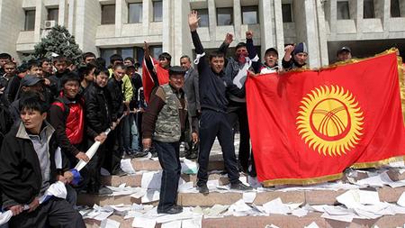 революция в кыргызстане