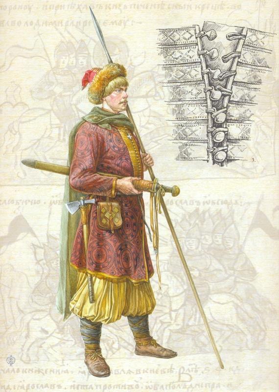 одежда древнерусского воина устаревшие слова