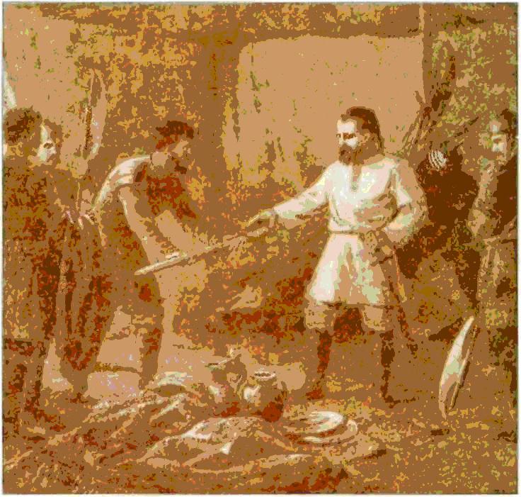 поход князя святослава на хазарию