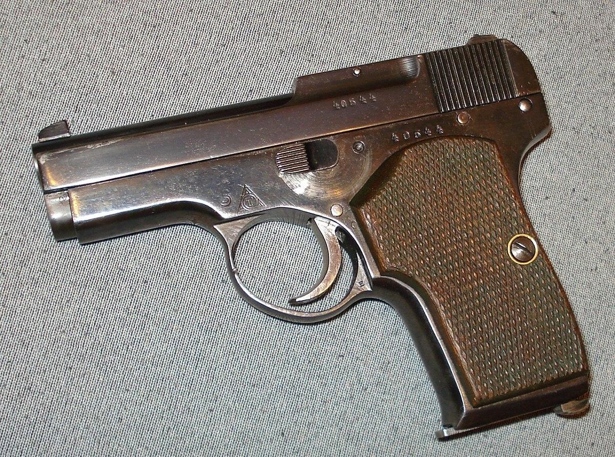 настоящий пистолет