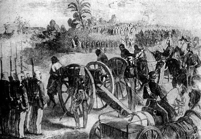 последствия восстания сипаев