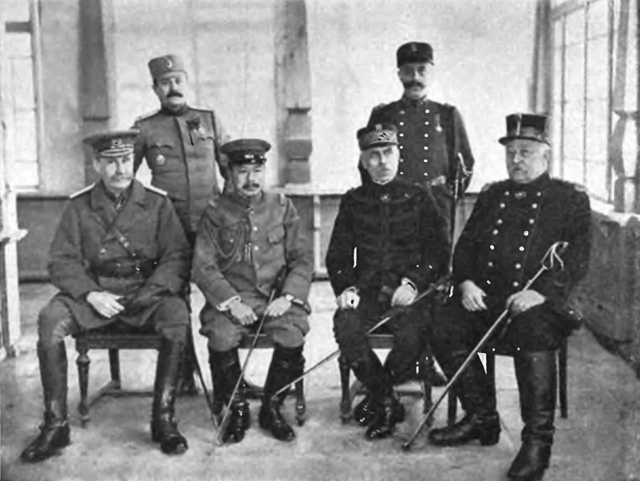 русские военачальники первой мировой войны