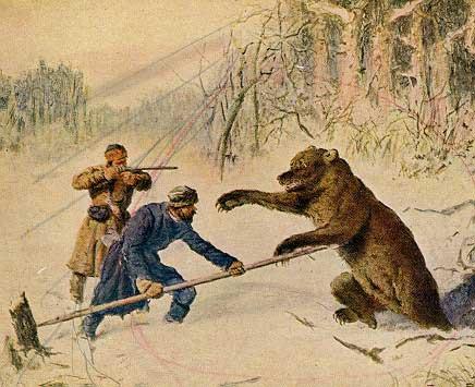 рогатина на медведя фото