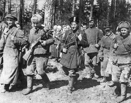 герои партизаны вов
