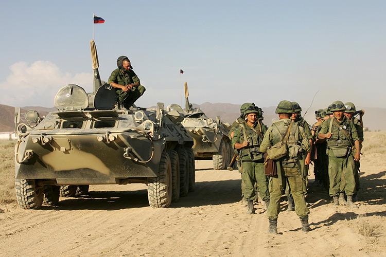 российская база в таджикистане
