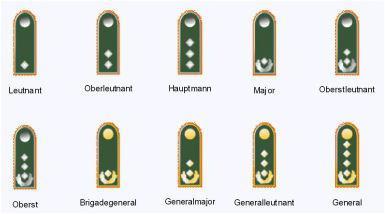 звания в немецкой армии 1941 1945