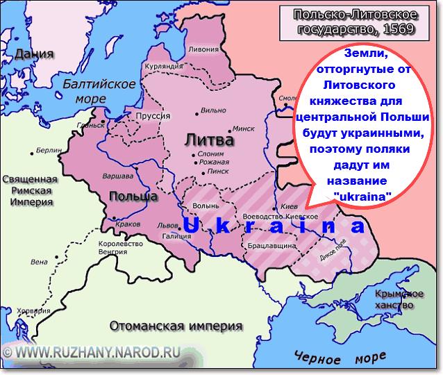 украина происхождение названия