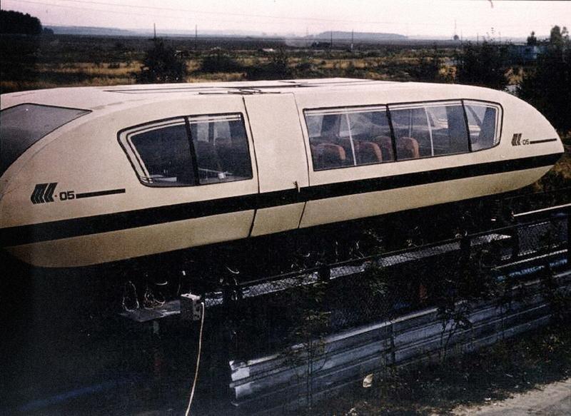маглев поезд на магнитной подушке