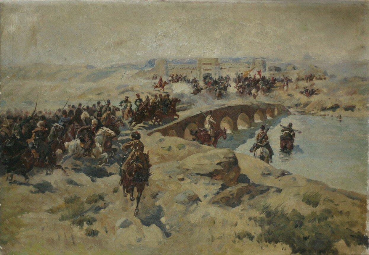 крепость ахульго
