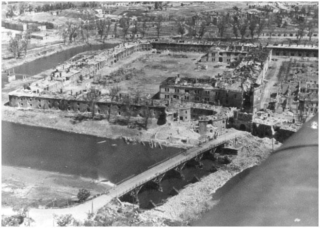 река в брестской крепости