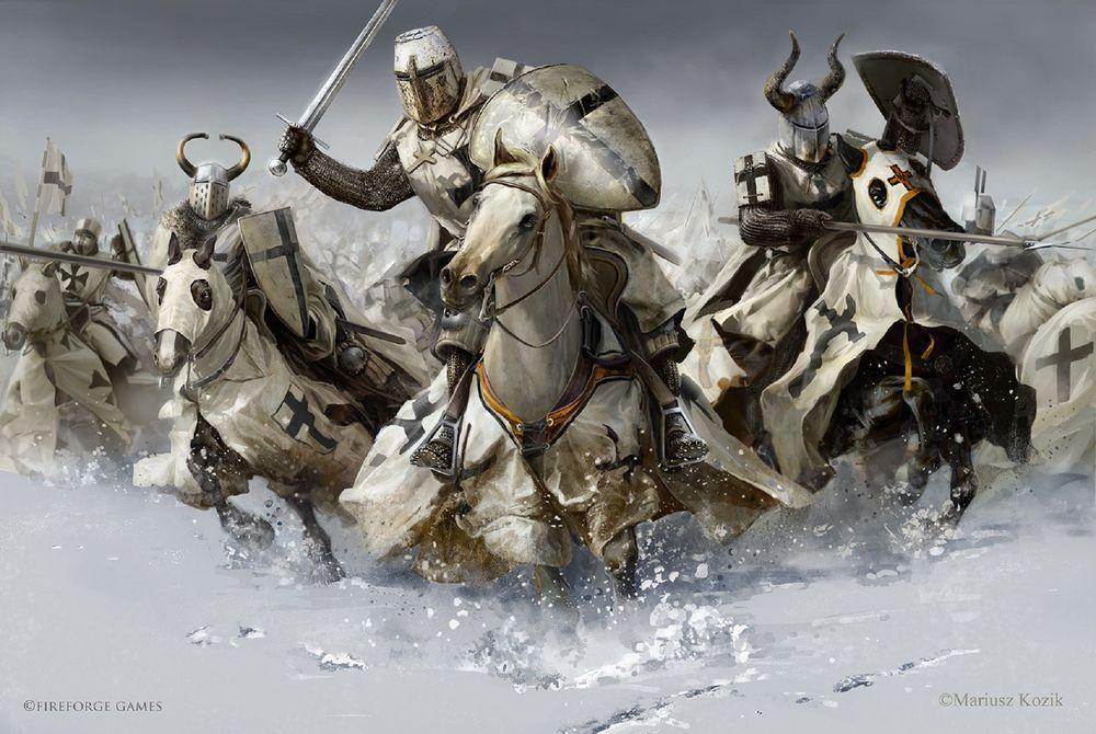 рыцарские ордена средневековья список