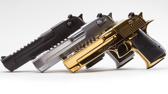 самый сильный пистолет в мире