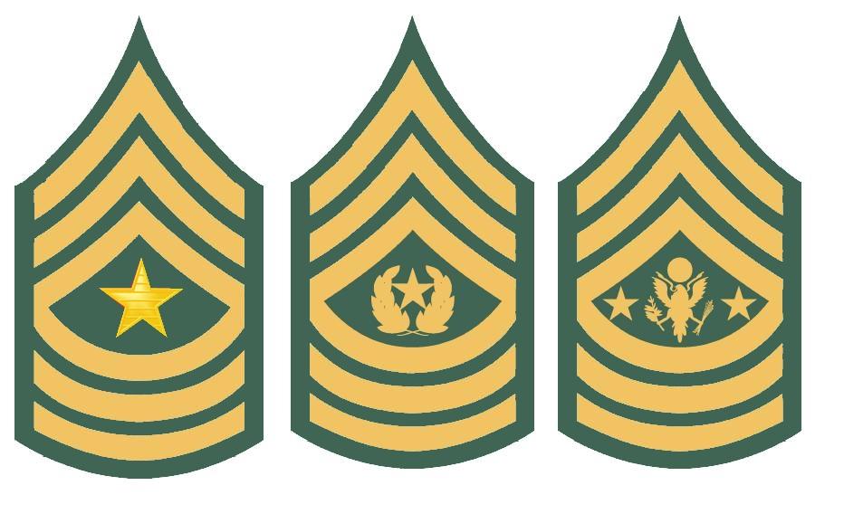 воинские звания армии сша