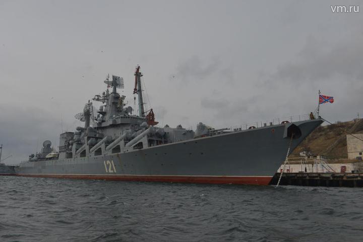 крейсер москва фото