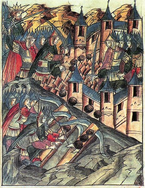нападение на рязань монгольского войска