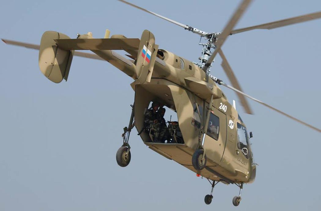 вертолет ка 226т