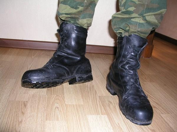 как называются армейские ботинки