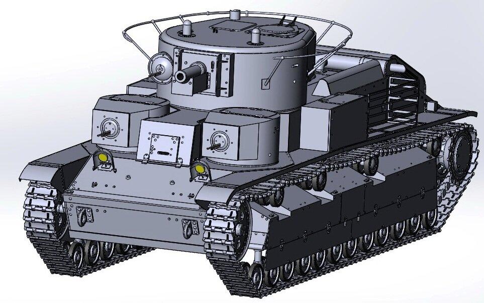 танк т28