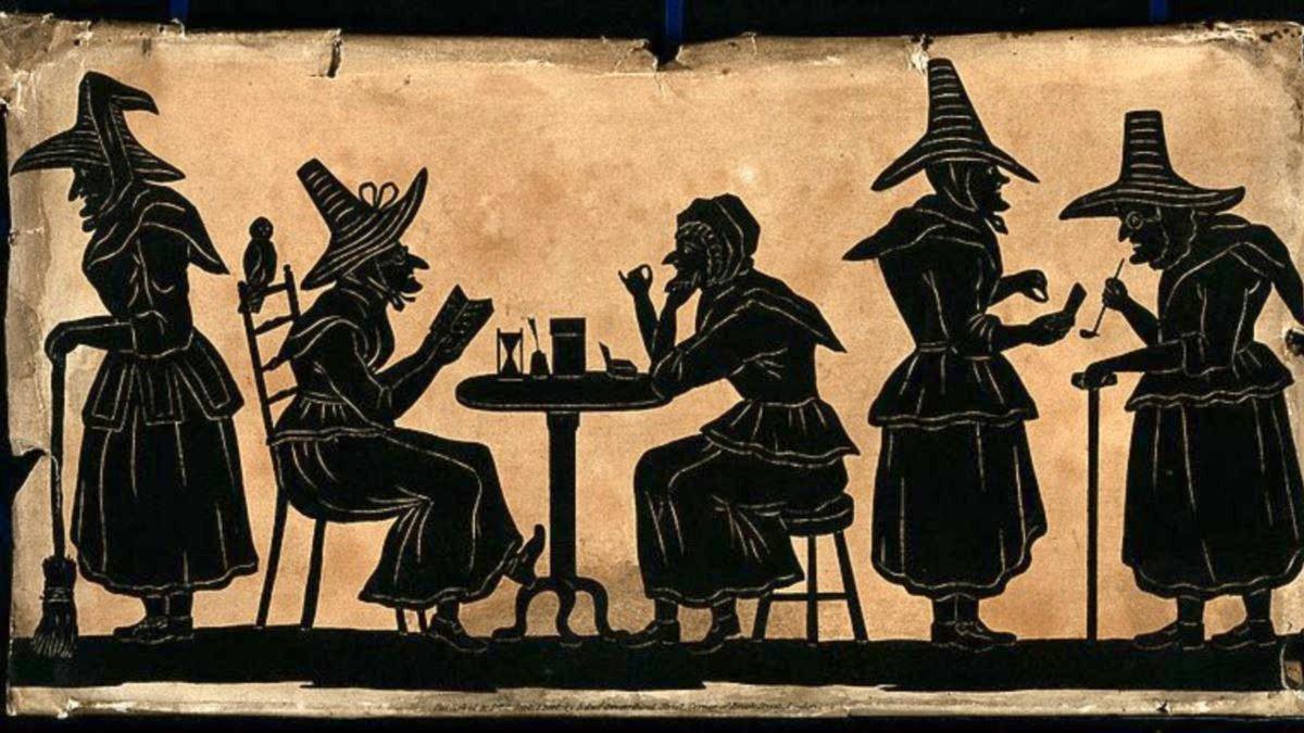 в каком веке сжигали ведьм на костре