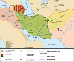 начало русско персидской войны