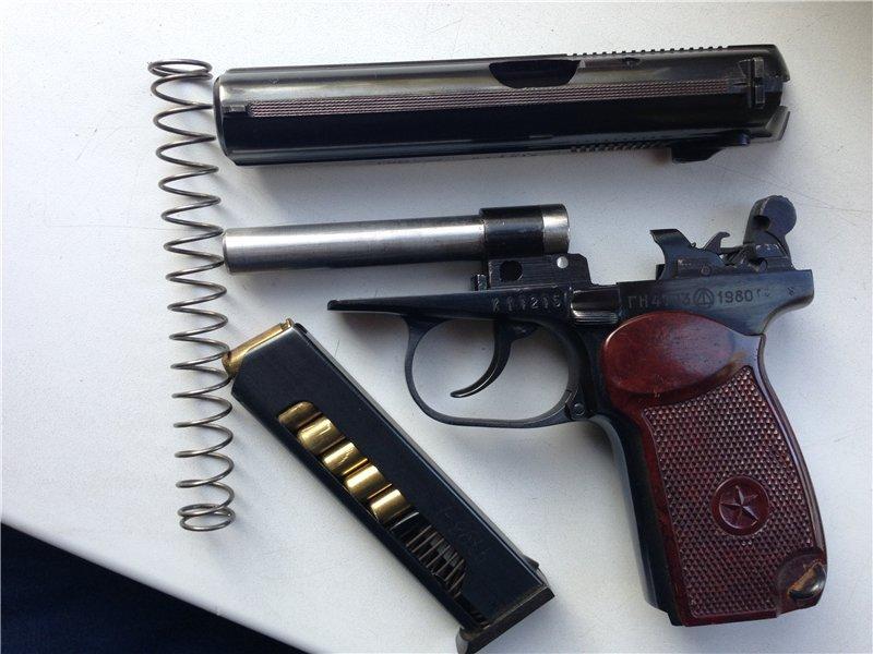 длина патрона 9 мм пистолета макарова
