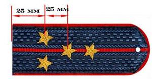полковник сколько звезд