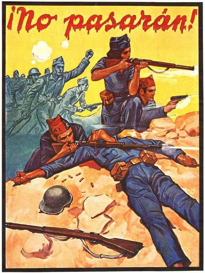 начало гражданской войны в испании
